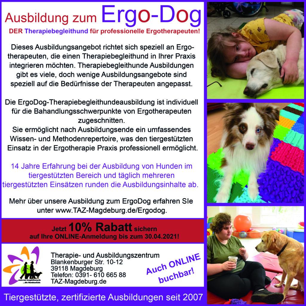ErgoDog Therapiebegleithund Magdeburg Eisleben Staßfurt Goslar